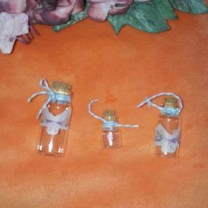 ❤️ Mini Glass Vases - Set of 3